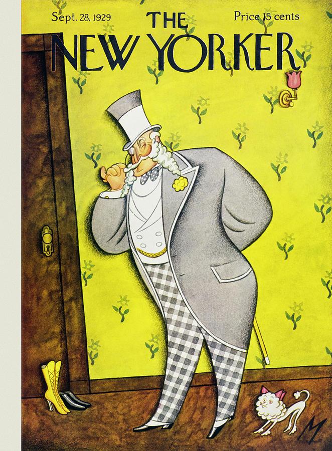 New Yorker September 28 1929 Painting by Julian De Miskey