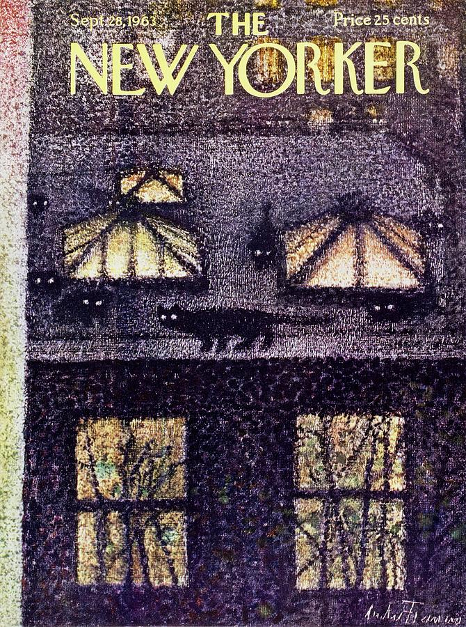 New Yorker September 28th 1963 Painting by Andre Francois