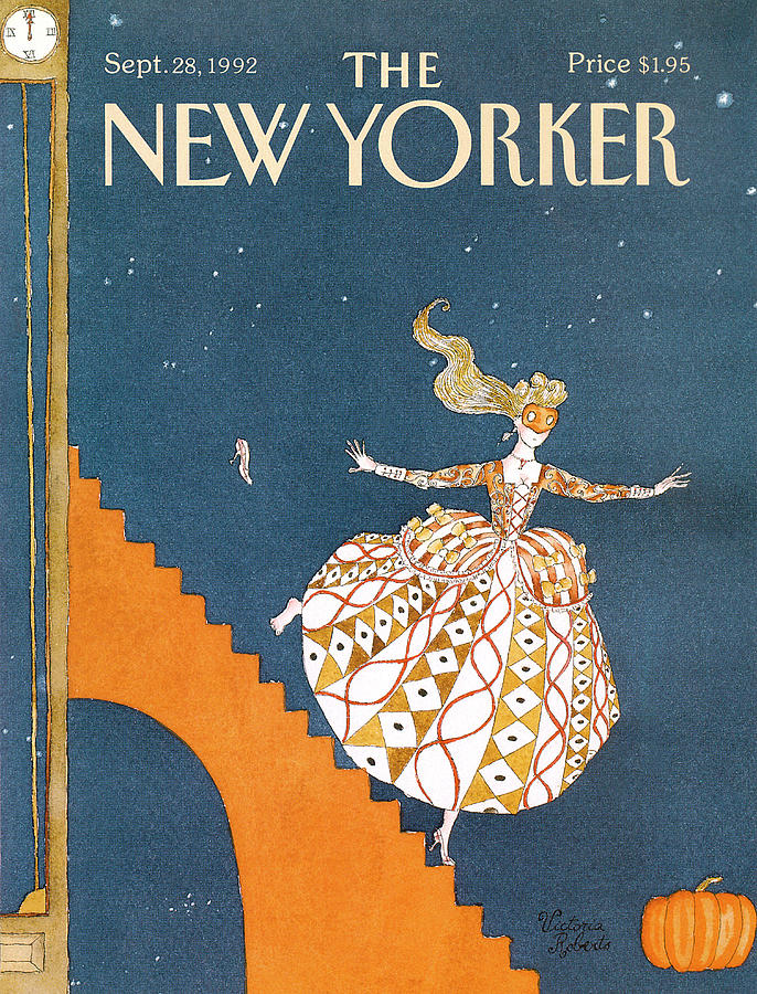 New Yorker September 28th, 1992 Painting by Victoria Roberts
