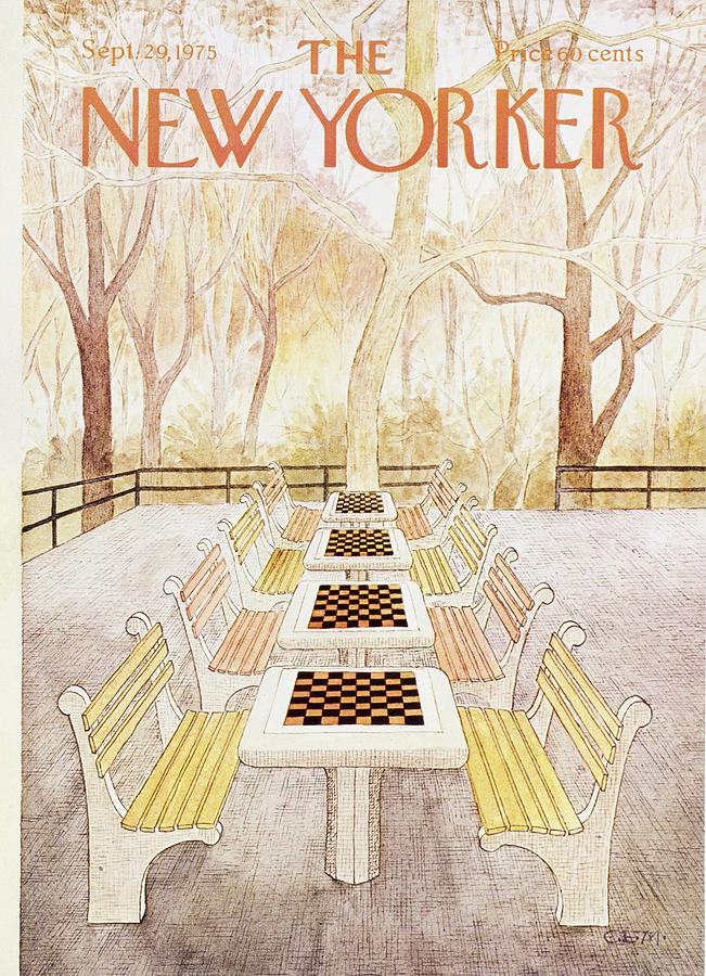 New Yorker September 29th 1975 Painting by Charles Martin