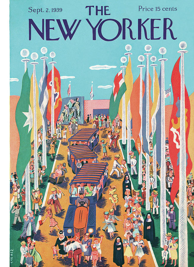 New Yorker September 2, 1939 Painting by Ilonka Karasz