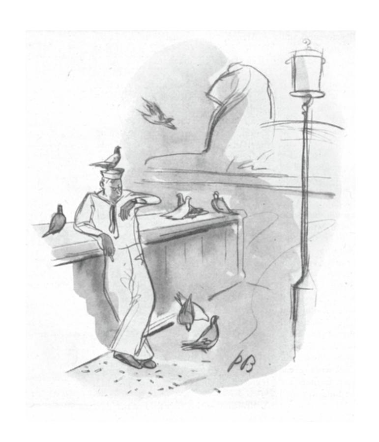 New Yorker September 2nd, 1944 Drawing by Perry Barlow