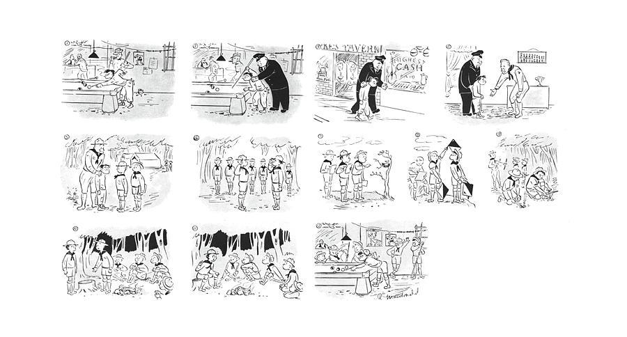 New Yorker September 2nd, 1944 Drawing by Roberta Macdonald