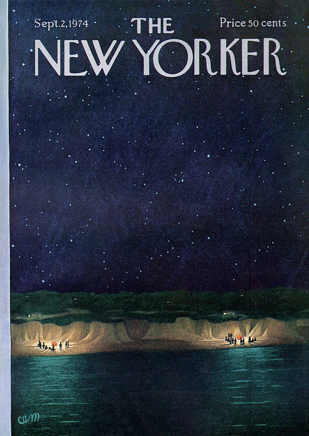 New Yorker September 2nd, 1974 Painting by Charles E Martin
