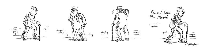 New Yorker September 2nd, 1974 Drawing by James Stevenson