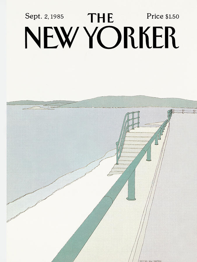 New Yorker September 2nd, 1985 Painting by Gretchen Dow Simpson