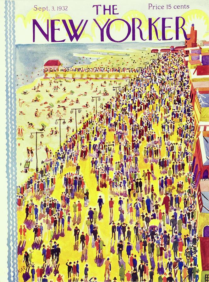 New Yorker September 3 1932 Painting by Ilonka Karasz