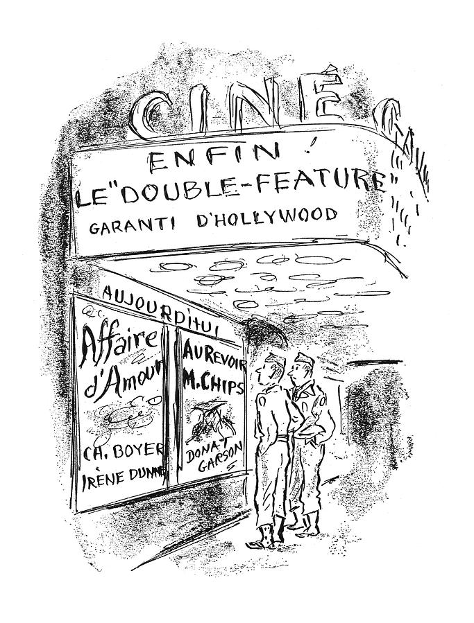 New Yorker September 30th, 1944 Drawing by Alan Dunn