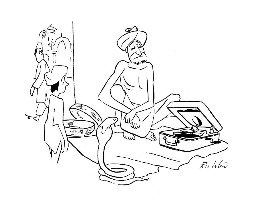New Yorker September 30th, 1944 Drawing by Mischa Richter