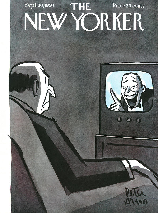 1950 Painting - New Yorker September 30th, 1950 by Peter Arno