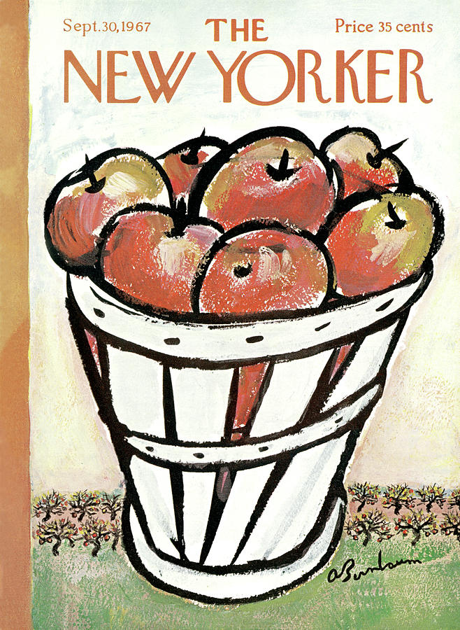 New Yorker September 30th, 1967 Painting by Abe Birnbaum