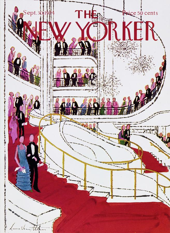 New Yorker September 30th 1974 Painting by Laura Jean Allen