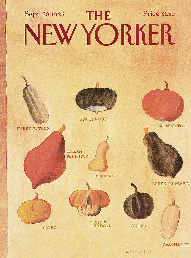 New Yorker September 30th, 1985 Painting by Abel Quezada