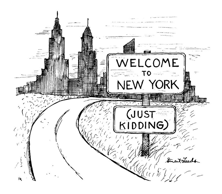 New Yorker September 30th, 1991 Drawing by Stuart Leeds