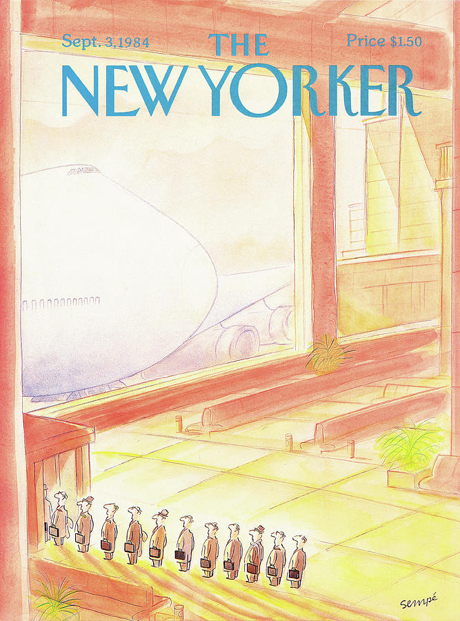 New Yorker September 3rd, 1984 Painting by Jean-Jacques Sempe