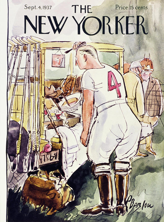 New Yorker September 4 1937 Painting by Perry Barlow