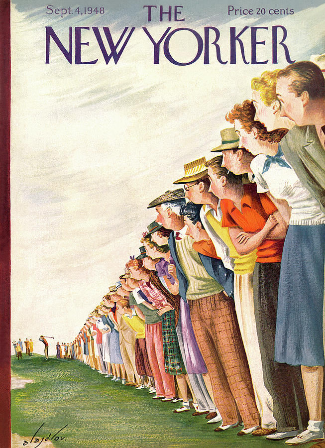 New Yorker September 4th, 1948 Painting by Constantin Alajalov