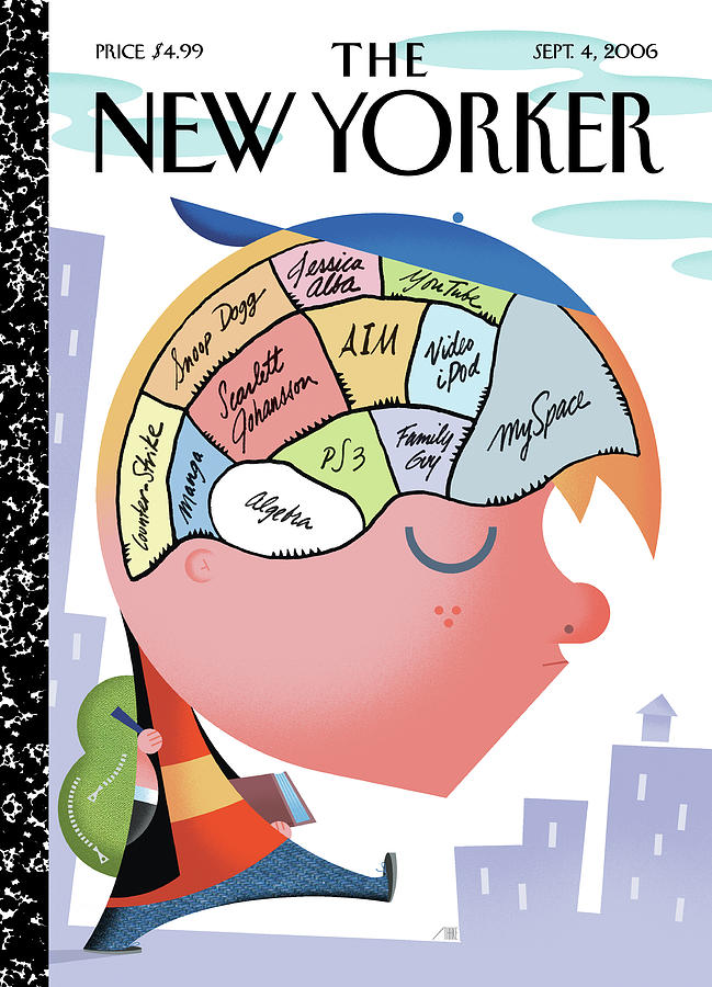 2006 Painting - New Yorker September 4th, 2006 by Bob Staake