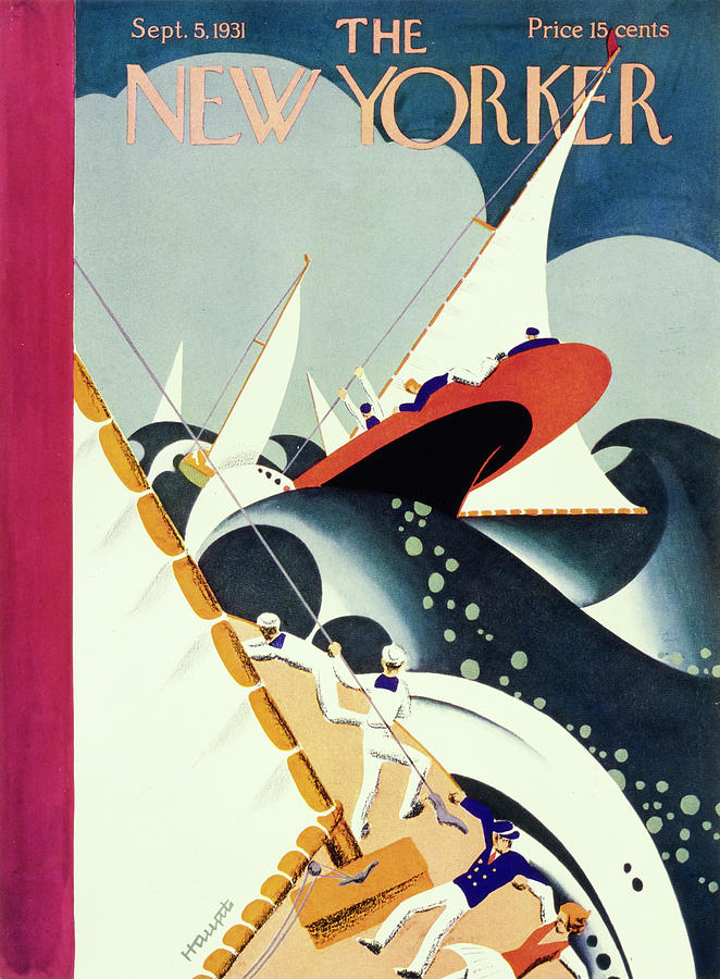 New Yorker September 5 1931 Painting by Theodore G Haupt
