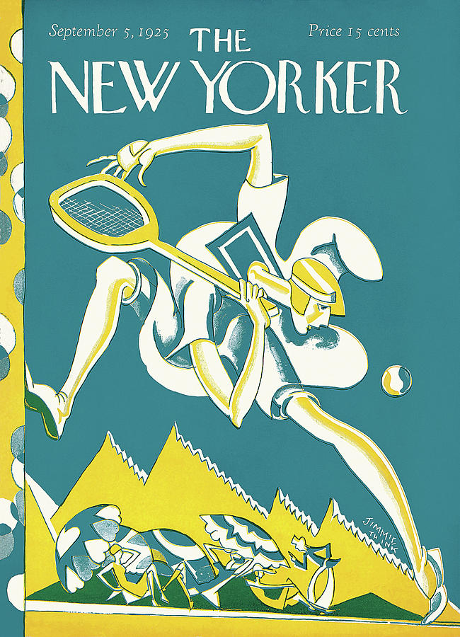 New Yorker September 5th, 1925 Painting by James Daugherty