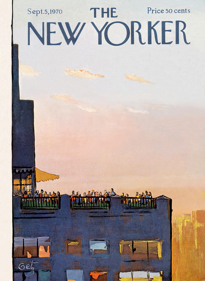 New Yorker September 5th, 1970 Painting by Arthur Getz