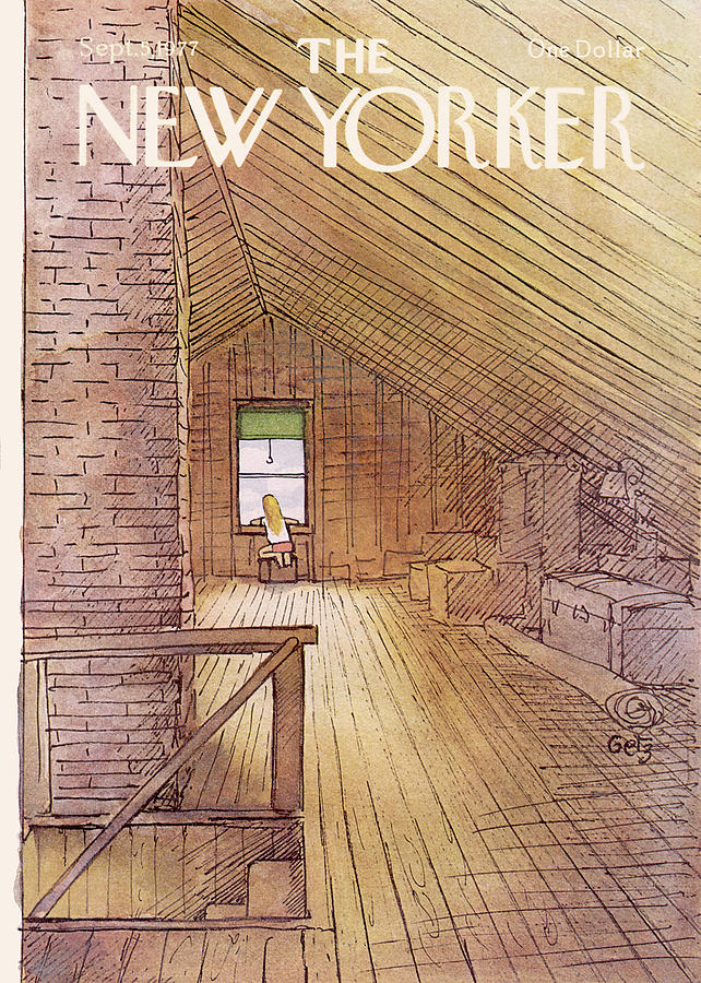 New Yorker September 5th, 1977 Painting by Arthur Getz