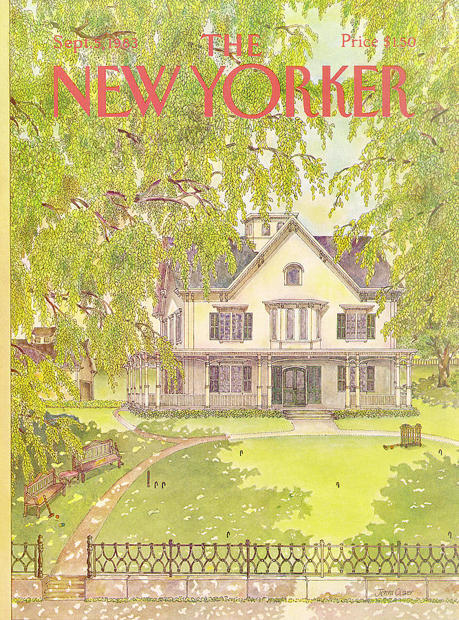 New Yorker September 5th, 1983 Painting by Jenni Oliver