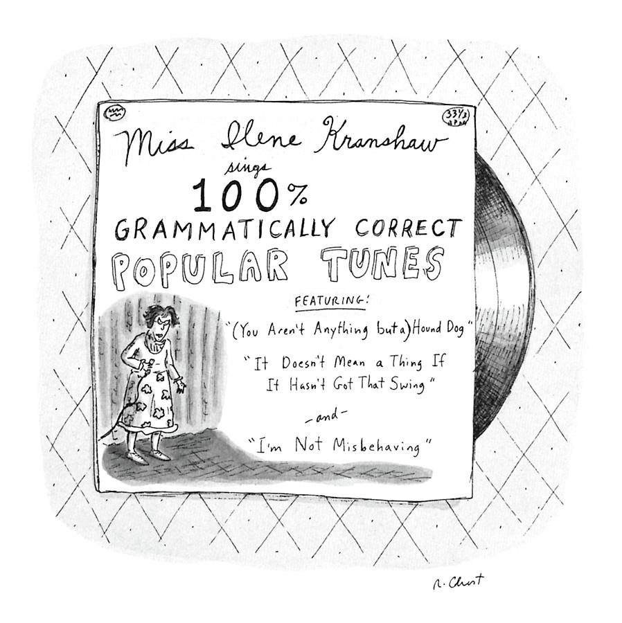 New Yorker September 5th, 1988 Drawing by Roz Chast