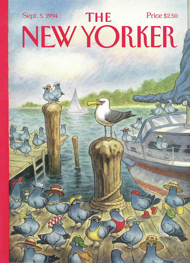 New Yorker September 5th, 1994 Painting by Peter de Seve