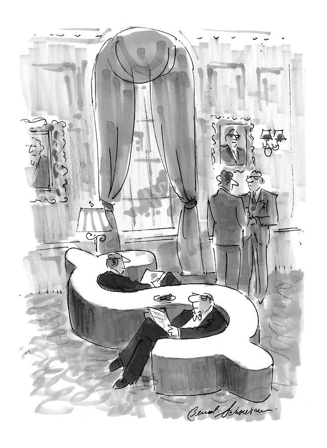 New Yorker September 6th, 1999 Drawing by Bernard Schoenbaum