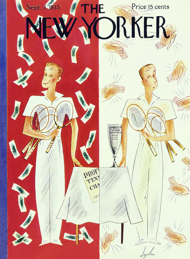 New Yorker September 7 1935 Painting by Constantin Alajalov