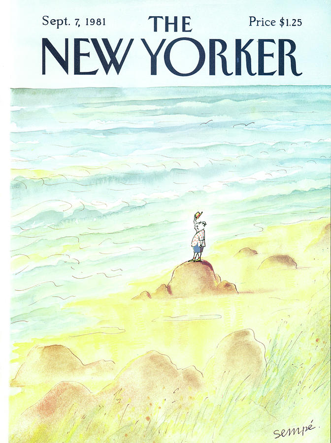 New Yorker September 7th, 1981 Painting by Jean-Jacques Sempe