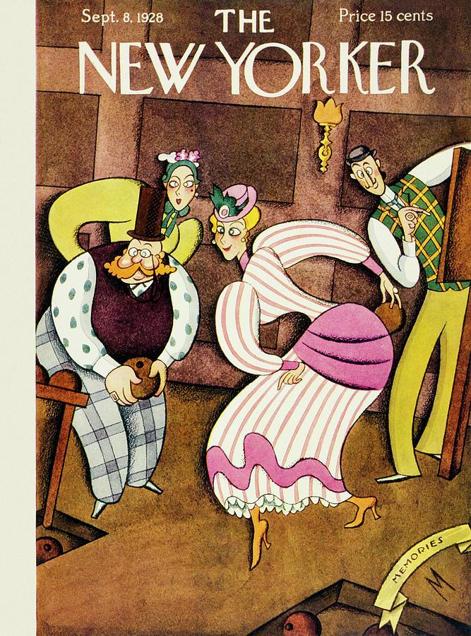 New Yorker September 8 1928 Painting by Julian De Miskey