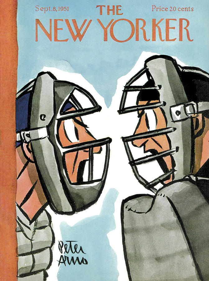 New Yorker September 8th, 1951 Painting by Peter Arno