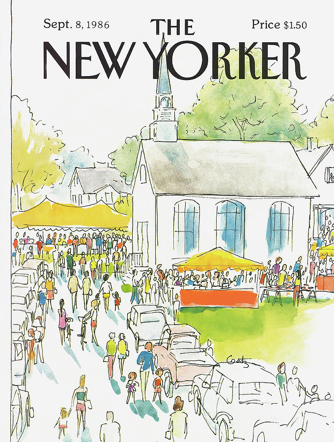 New Yorker September 8th, 1986 Painting by Arthur Getz