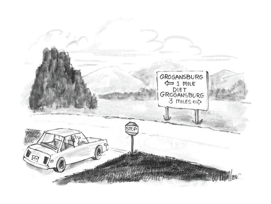 New Yorker September 8th, 1986 Drawing by Warren Miller
