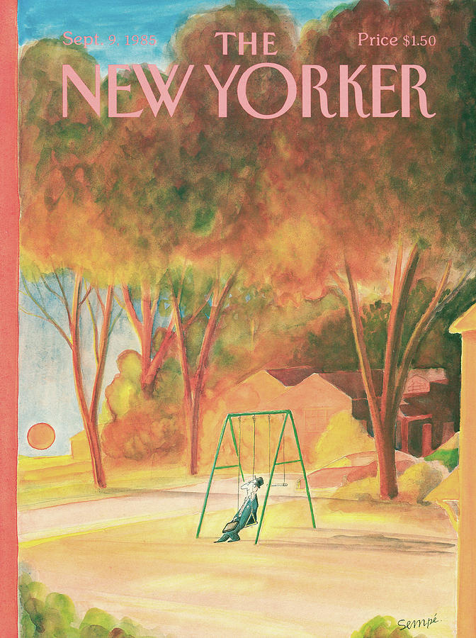 New Yorker September 9th, 1985 Painting by Jean-Jacques Sempe