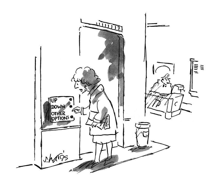New Yorker September 9th, 1996 Drawing by Sidney Harris