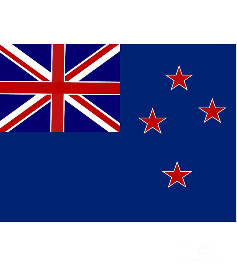 New Zealand Digital Art - New Zealand Flag by Frederick Holiday