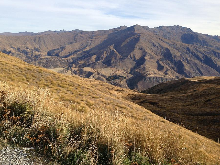 Mountain Photograph - New Zealand Mountains by Ron Torborg