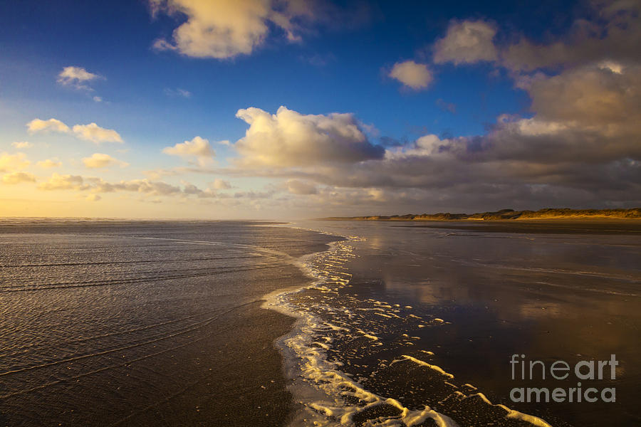Beautiful Photograph - New Zealand Ninety Mile Beach by Colin and Linda McKie
