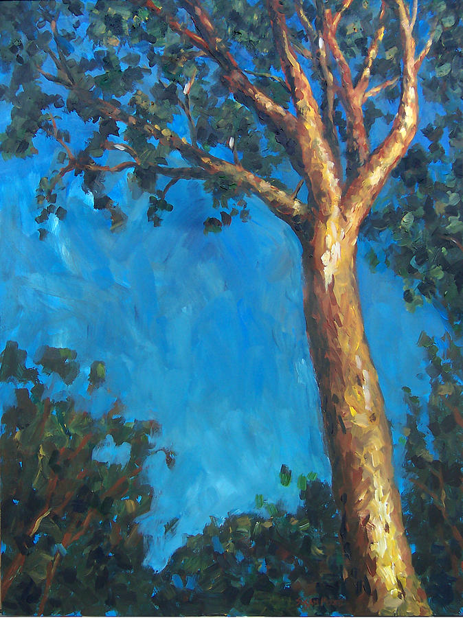 Tree Painting - New Zealand Tree by Susan Moore