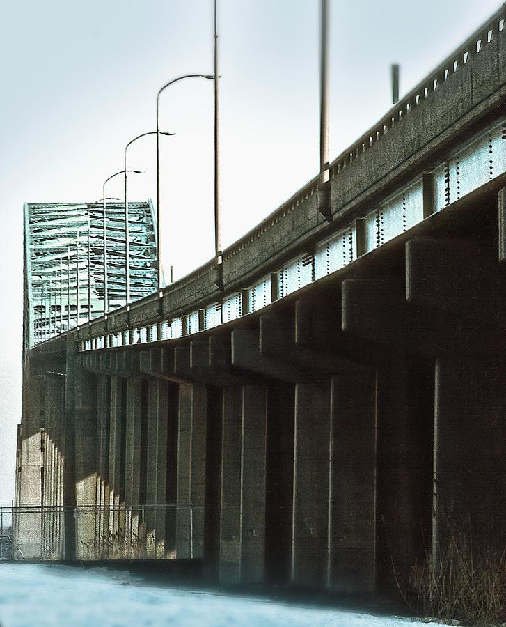 Newark Bay Bridge Photograph