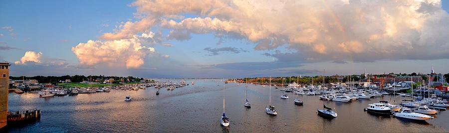 Newburyport Photograph - Newburyport Harbor 2010 by John Brown