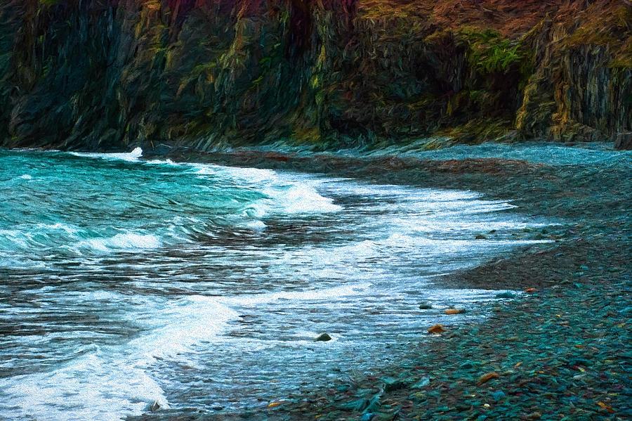 Atlantic Photograph - Rocky Beach by Boss Photographic