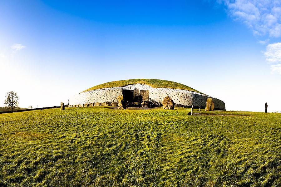 Newgrange Photograph - Newgrange - Mystery Of The Irish Boyne Valley  by Mark E Tisdale