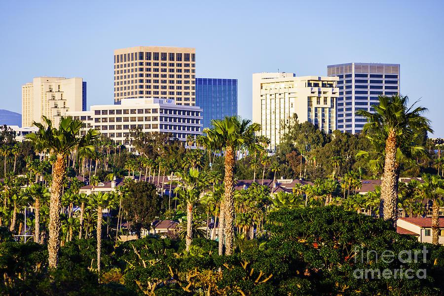 America Photograph - Newport Beach Skyline Picture by Paul Velgos