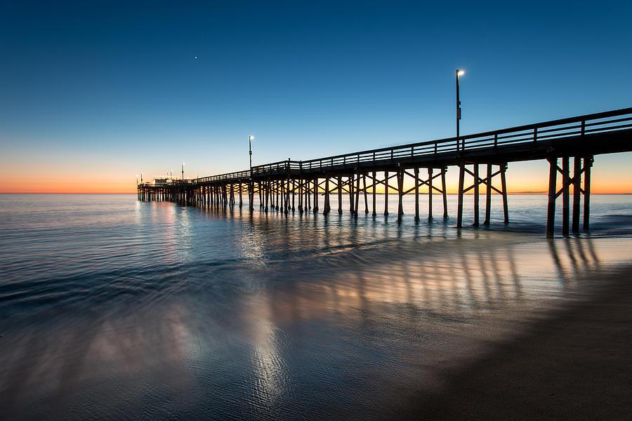 America Photograph - Newport Beach Sunset Series 22 by Josh Whalen