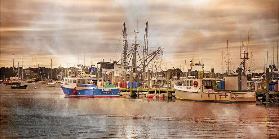 Harbor Photograph - Newport Rhode Island Harbor II by Betsy Knapp