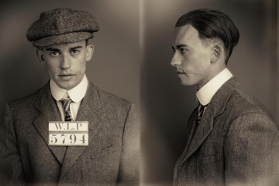 News Boy Wanted Mugshot Photograph by Nick Dolding